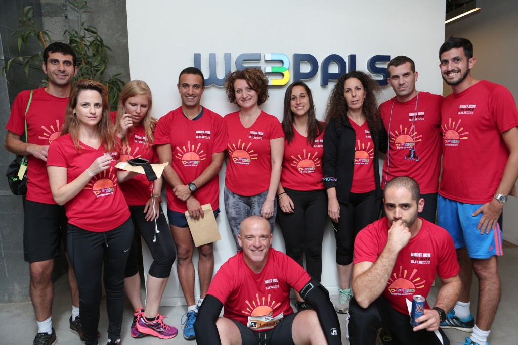 Webpalers Tel Aviv Night Run 2016