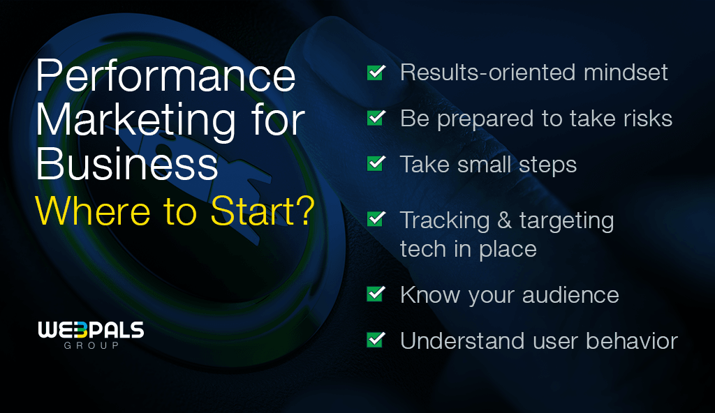 Pay-for-performance marketing where to start