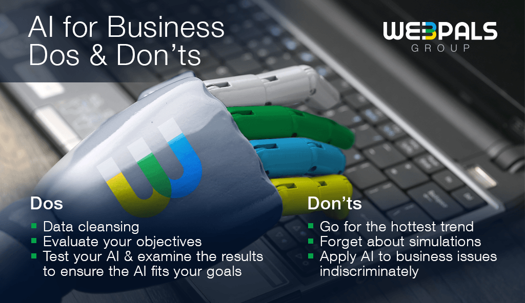 The do's and don'ts of AI for Business