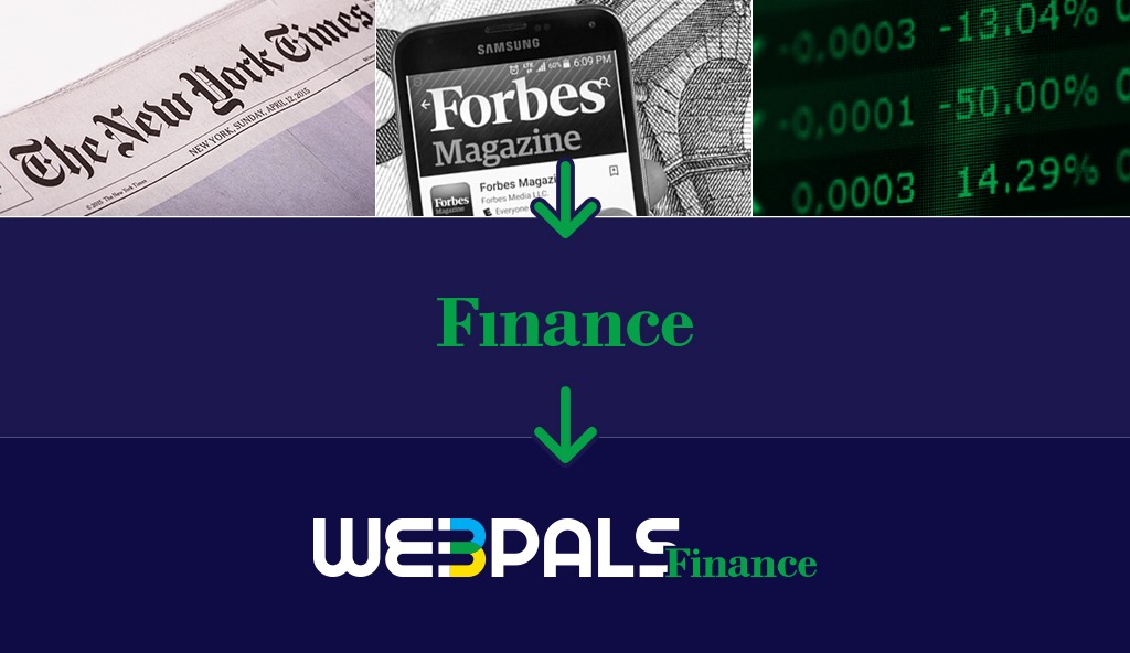 Webpals Finance logo Our Rebranding