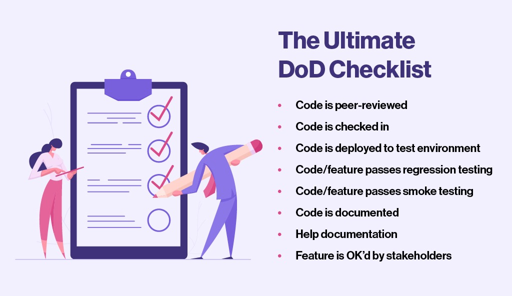 DoD Checklist product development